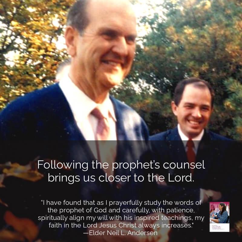 #ComeFollowMe nugget Helaman 16 Elder Neil L. Andersen teaches on prophets . . .