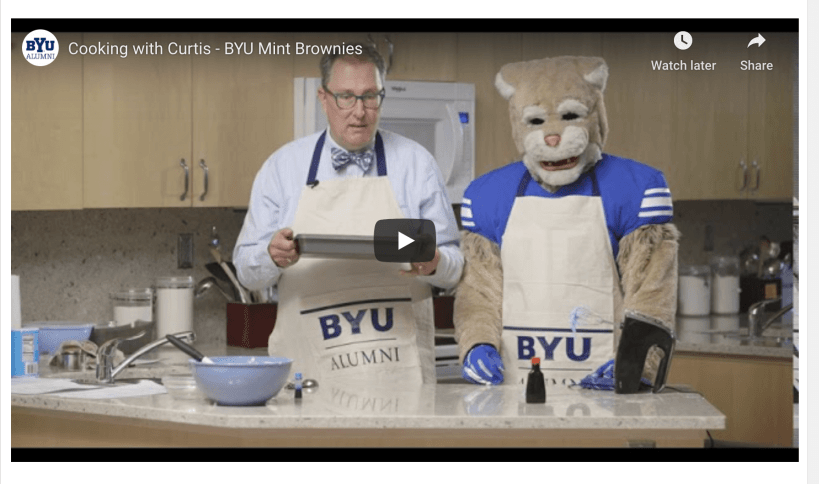 VIDEO: BYU Mint Brownies recipe | Cooking with Curtis