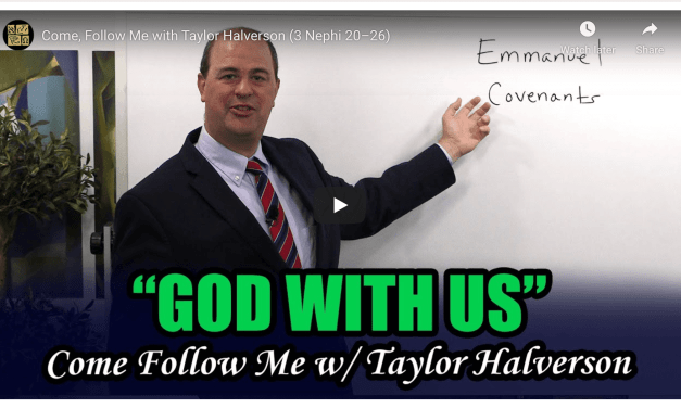 "BOOK OF MORMON CENTRAL COME FOLLOW ME INSIGHTS! WITH TAYLOR  3 NEPHI 20-26 (OCTOBER 12TH-OCTOBER 18TH, 2020) | ""God With Us"""