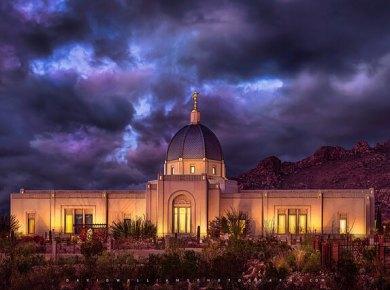 Tucson latter day saint temple, tucson, arizona