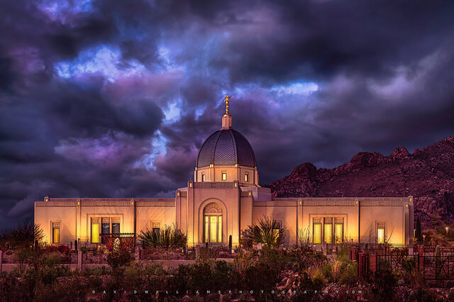 David Williams: Phoenix-based photographer specializing in LDS Temple Photography