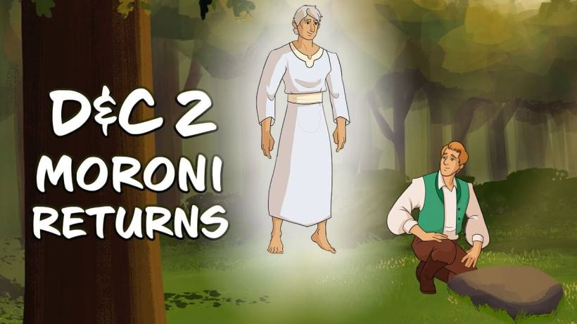 "VIDEO: Come Follow Me with Living Scriptures - D&C 2 - ""Moroni Returns"" 