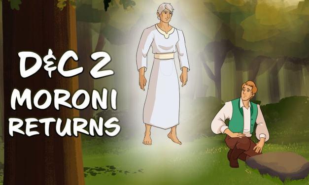 "VIDEO: Come Follow Me with Living Scriptures – D&C 2 – ""Moroni Returns"" | #ComeFollowMe"
