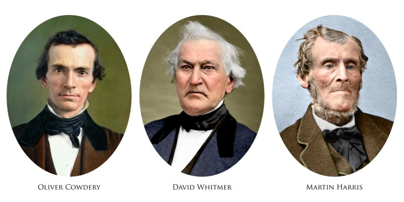 Three Witnesses LDS Mormon Whitmer Cowdery Harris