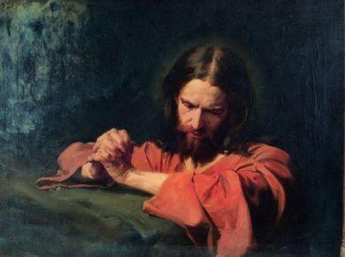 Christ savior gethsemane prayer atonement (1)