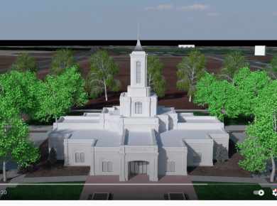VIDEO: Missionary created INCREDIBLE Moses Lake Temple model!