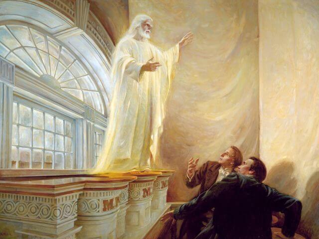 Jesus appears to joseph rane