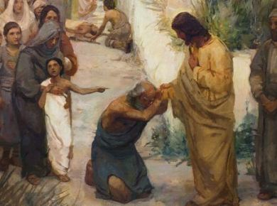 Jesus healing people (1)