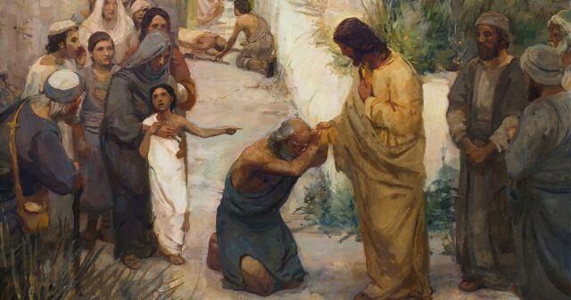 Jesus healing people (1)