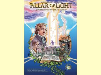 Pillar of Light, a graphic novel depiction of the First Vision, with the two artists behind the project that will change the way you view Joseph Smith and the Restoration