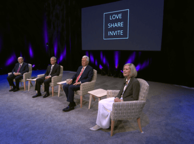 VIDEO: Latter-day Saints Encouraged to 'Love, Share, Invite'