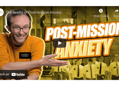 VIDEO: The Reality of Post-mission Anxiety (Saints Unscripted)