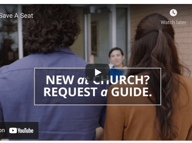 VIDEO: Here's what happens when you request to have someone save you a seat at a Sunday service
