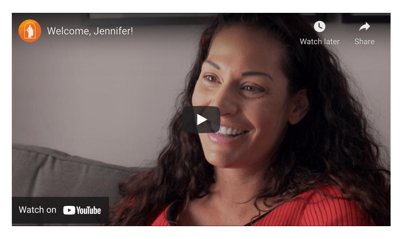VIDEO: After feeling very lost in life, Jennifer was intrigued by the lives of Latter-day Saint friends, neighbors and co-workers