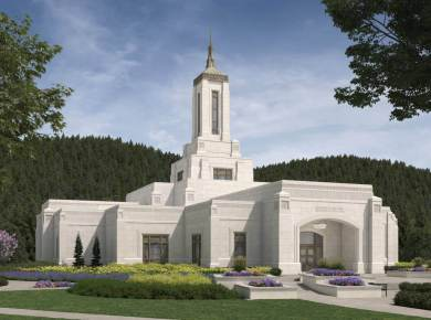 The temple announced for Eugene, Oregon, in the April 2021 General Conference has been officially named the Willamette Valley Oregon Temple. The temple will be constructed on a 10.5-acre site at the intersection of International Boulevard and Corporate Way in Springfield, Oregon, a suburb of Eugene. Plans call for a single-story temple of approximately 30,000 square feet. The temple will serve more than 30,000 Latter-day Saints in West-Central Oregon. A groundbreaking announcement will be made later.