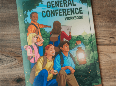 LDS Daily General Conference Workbook for Kids | #GeneralConference