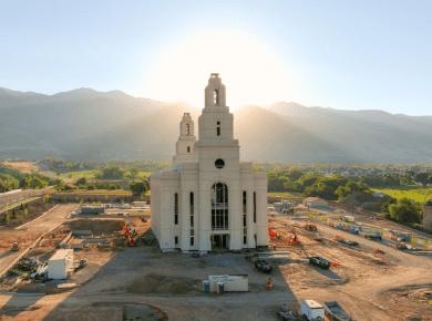 Layton Utah Temple 2021