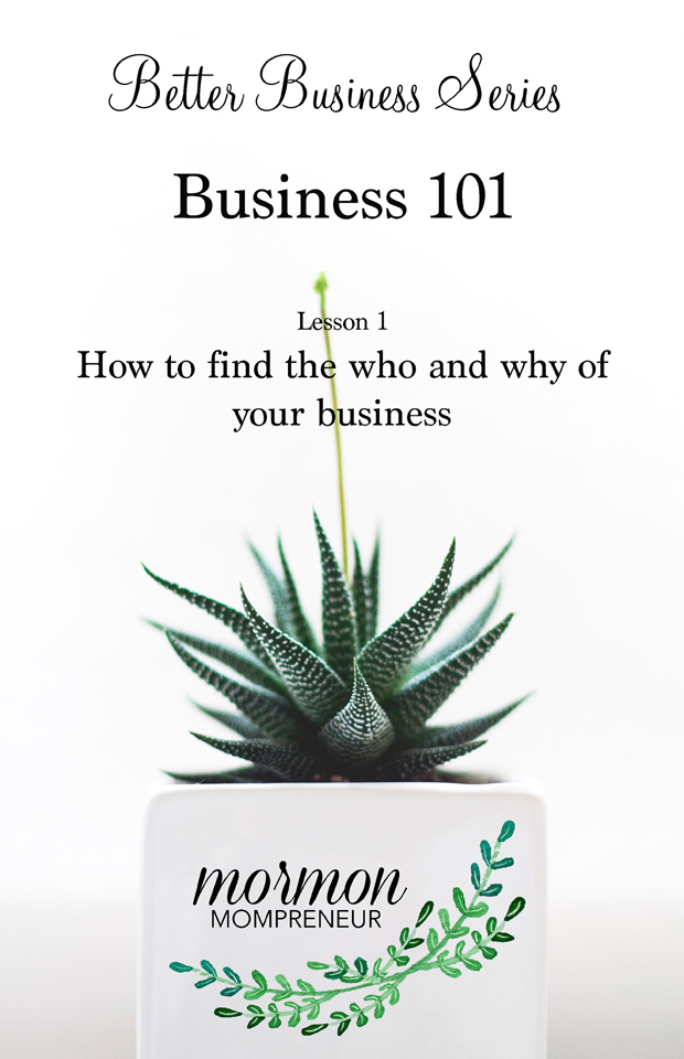 How to find the who and why of your business