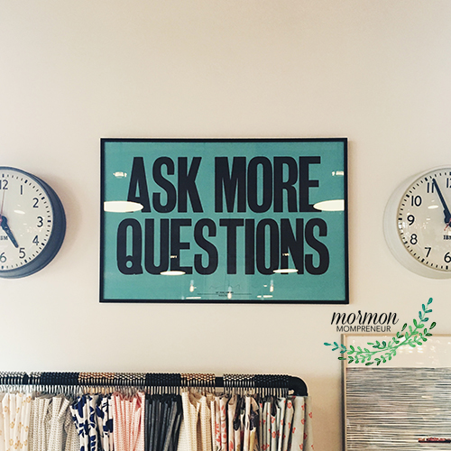 Mormon Mompreneur 7 Questions to Ask at the end of the year to build your business