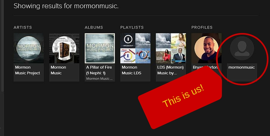 Mormon Music Good Search