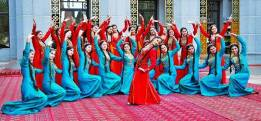 Türkmen gyzlar-Turkmen Women