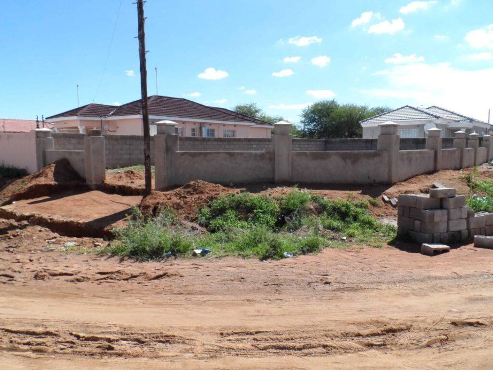 Botswana - byggebranchen