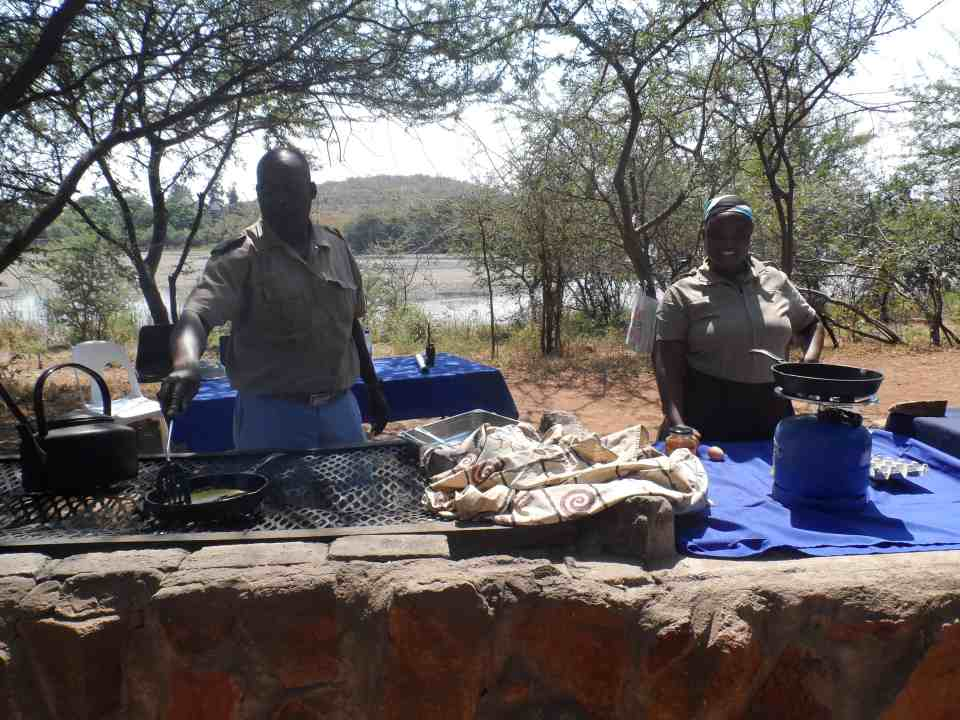 Safari og bush brunch i Botswana