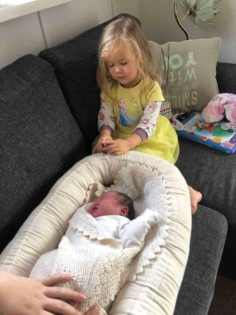lille Mila og Lily