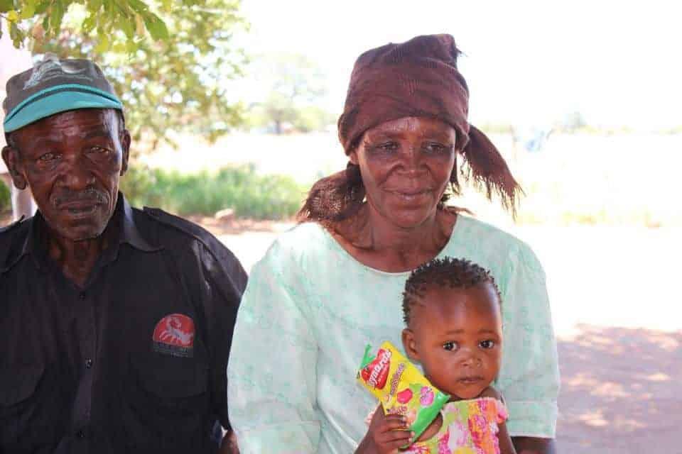 Familien Max bor i bushen
