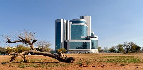 Botswana - lige efter ankomsten