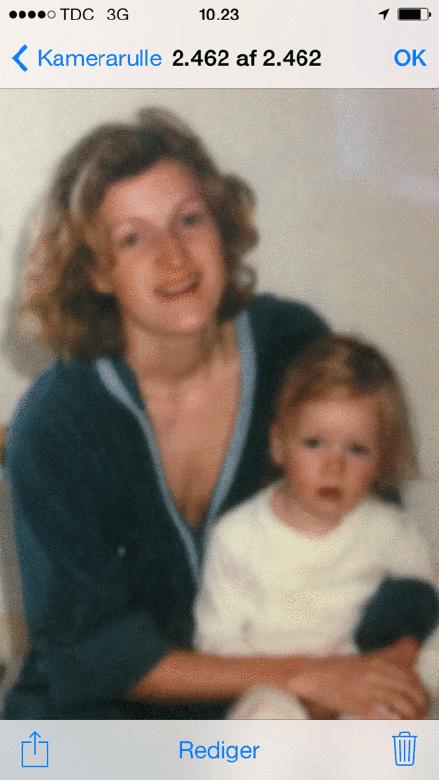 At være ung mor for 30 år siden...