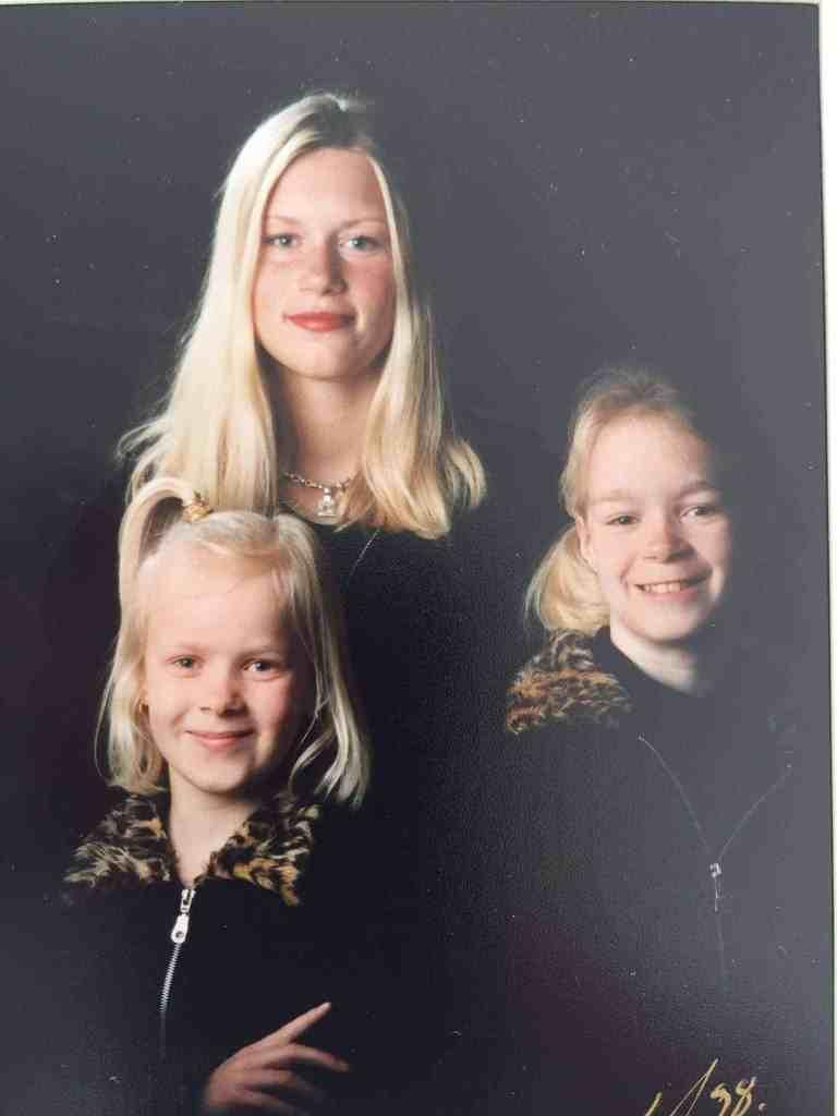 Da mine døtre var små....var jeg M E G E T ung!