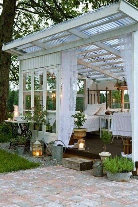 Pavillon/drivhus/orangeri - kært barn