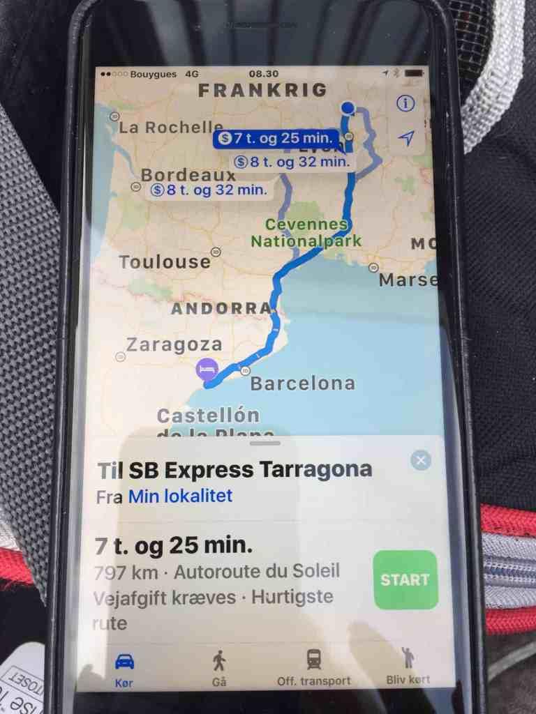 "Følg med i ""Tre på tur"" - 3.185 km...!"