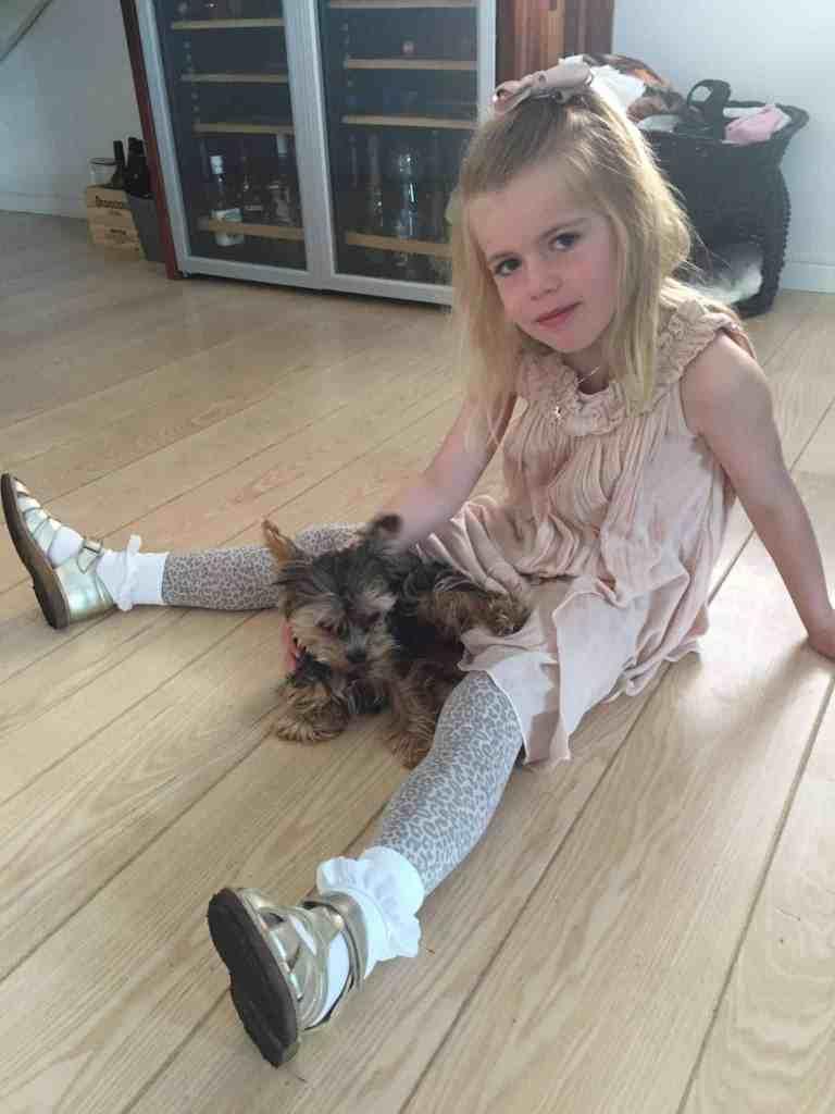 En dag med Prinsesse Izabell