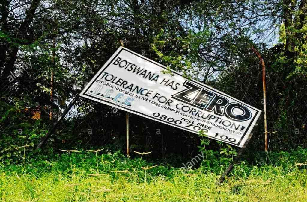 SPEED DRIVING og korruption i Botswana