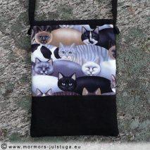 Väska med mönster av katter - VASK-003