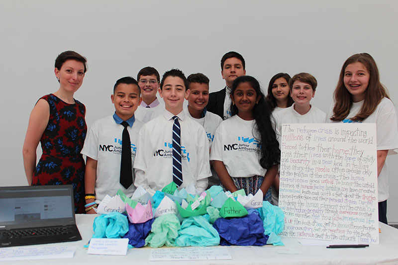 NYC Junior Ambassador Image
