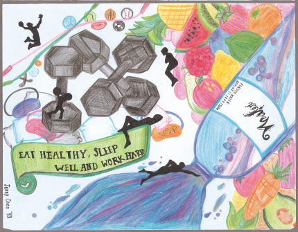 One of Our Winners from the 2017 School Wellness