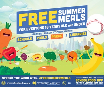Time to Eat Up with FREE Summer Meals – The Morning Bell