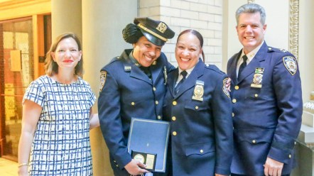 The DOE Celebrated its Fourth Annual School Safety Agent Recognition Ceremony