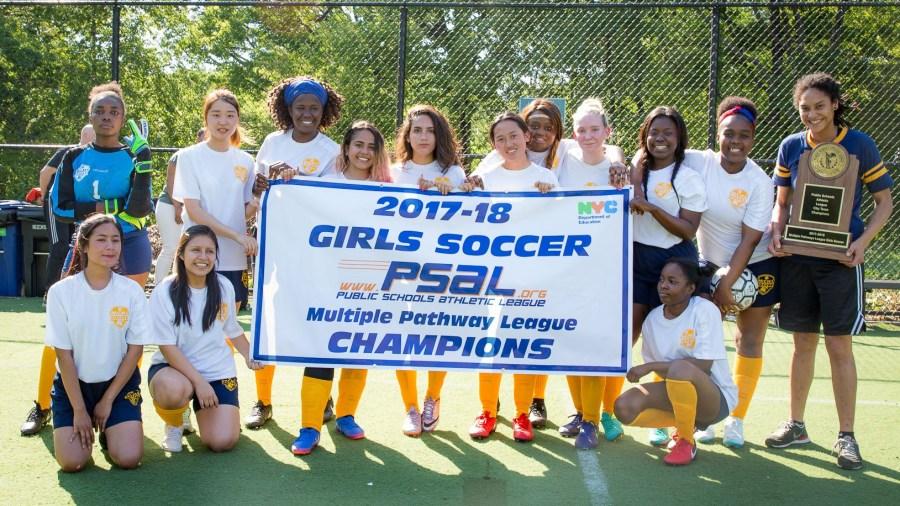 MCNDHS' Championship-Winning Girls Soccer Team