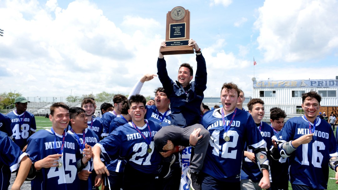 Midwood H.S. Captured the 2017–18 PSAL Boys A Lacrosse Championship