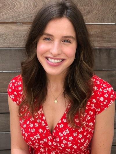 Portrait of Sarah Cullen smiling