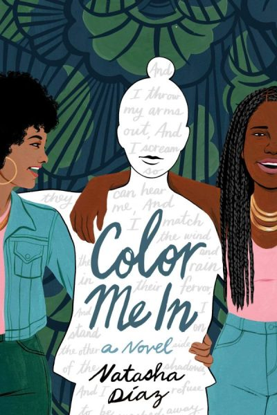 "Cover of the book, ""Color Me In,"" by Natasha Diaz"