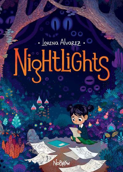 "Cover of the book, ""Nightlights,"" by Lorena Alvarez"