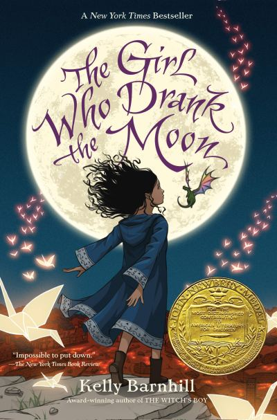 "Cover of the book, ""The Girl Who Drank the Moon,"" by Kelly Barnhill"