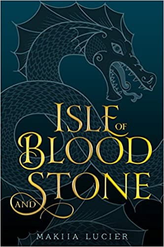 """Book cover for the title, """"Isle of Blood and Stone"""""""