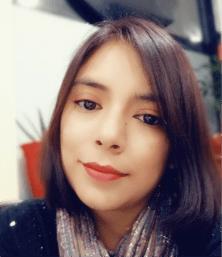 Portrait photo of BAA 2021 winner, Azucena Quintuna
