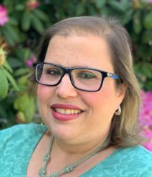 Portrait of BAA 2021 winner, Deborah Rich